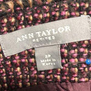 Ann Taylor Skirts - Ann Taylor Wool Blend Tweed Skirt Sz 2P   A18